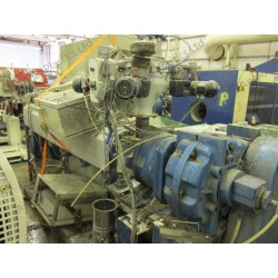 Boston Matthews 80 Single Screw Extruder