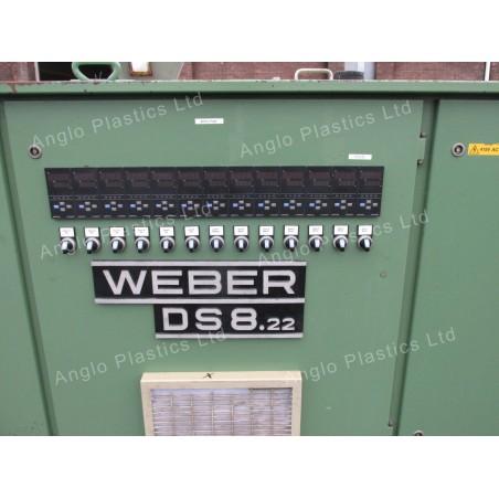 Weber DS8.22 Twin Screw Extruder