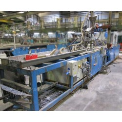 Vobau Downstream line with Stork Co Extruder
